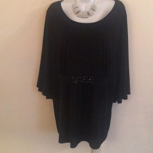 Black Angel Wing Tunic Top 🎁